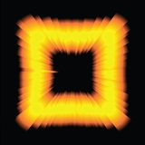 Psychedelic Light Square Royalty Free Stock Image