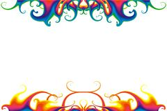 Psychedelic Liquid Background. For your party flyer's Royalty Free Stock Photos