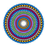 Psychedelic Mandala Royalty Free Stock Photography