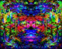 Psychedelic Monster Royalty Free Stock Photos