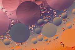 Psychedelic oil and water abstrac Royalty Free Stock Photos