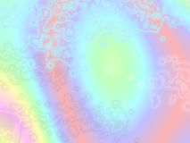 Psychedelic Pastel Ethereal background Stock Image