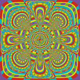 Psychedelic pattern Royalty Free Stock Photography
