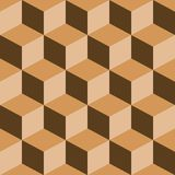 Psychedelic pattern mixed brown Stock Photos