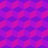 Psychedelic pattern mixed purple Stock Images