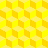 Psychedelic pattern mixed yellow Stock Images
