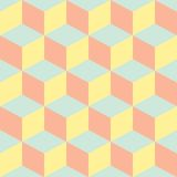 Psychedelic pattern pastel colors Royalty Free Stock Images