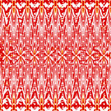 Psychedelic red abstract geometric background vector illustration Stock Photo