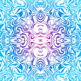 Psychedelic seamless pattern Royalty Free Stock Photos