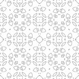 Moroccan tile retro motif. royalty free illustration
