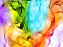 Psychedelic smoke Royalty Free Stock Photos