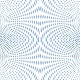 Psychedelic Soft focus halftone blue Royalty Free Stock Images