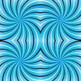 psychedelic spiral Royaltyfria Bilder