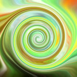 Psychedelic spiral Royalty Free Stock Photography