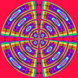 Psychedelic spiral Royalty Free Stock Photos