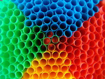 psychedelic straws stock photography