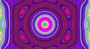Psychedelic symmetry abstract pattern and hypnotic background, design wallpaper. Psychedelic symmetry abstract pattern and hypnotic background texture, design stock illustration