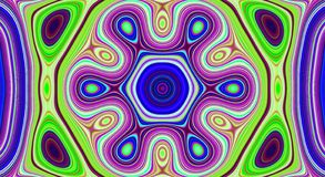 Psychedelic symmetry abstract pattern and hypnotic background, geometric. Psychedelic symmetry abstract pattern and hypnotic background texture, geometric stock image