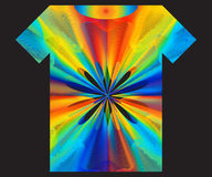 Psychedelic T-shirt Royalty Free Stock Photo