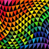 Psychedelic Triangle Pattern Stock Photos