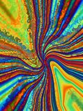 Psychedelic  twist Royalty Free Stock Photography