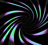 Psychedelic vortex abstract art, background design  illustration Stock Photography