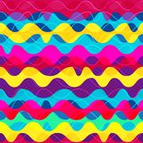 Psychedelic wave seamless pattern Royalty Free Stock Image