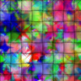 Psychedelic weave background Royalty Free Stock Images