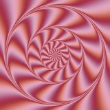Psychedelic Wind Spiral.  Digital abstract image with a psychedelic spiral Stock Images