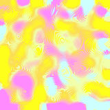 Psychedelic yellow background Royalty Free Stock Images