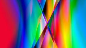 Psychedelisch abstract behang Stock Foto