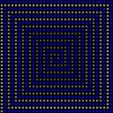 Psychedelisch 3D patroon. Stock Foto's