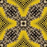 Psychedelisch ornament Royalty-vrije Stock Afbeelding