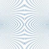 Psychedelisch Zacht nadruk halftone blauw Royalty-vrije Stock Afbeeldingen