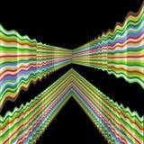 Psychedelische achtergrond   Stock Afbeelding