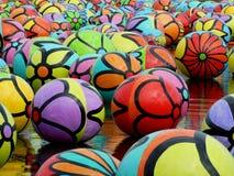 Psychedelische Ballen Stock Foto's