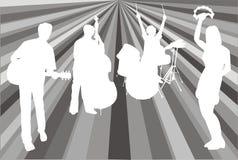 Psychedelische band Royalty-vrije Stock Fotografie