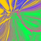 Psychedelische flüssige Fliese, flüssiger Mehrfarbenhintergrund Stockfoto