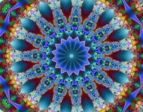 Psychedelische fractal Royalty-vrije Stock Afbeelding