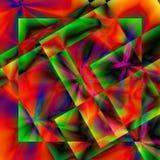 Psychedelische Implosies Royalty-vrije Stock Foto's