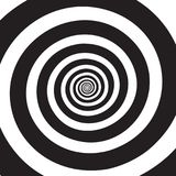 Psychedelische Spiraal vector illustratie