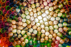 psychedelische Strohe Lizenzfreies Stockfoto
