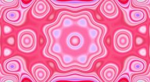 Psychedelische symmetrie abstract patroon en hypnotic achtergrond, creatief ontwerp stock illustratie