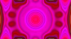 Psychedelische symmetrie abstract patroon en hypnotic achtergrond, multicolored ontwerp stock illustratie
