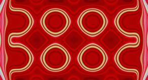Psychedelische symmetrie abstract patroon en hypnotic achtergrond, multicolored ornament vector illustratie