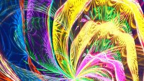 Psychedelische Szene der Disco Nahtlose Schleife 4K, UHD, ultra HD-Entschließung stock video footage
