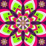 Psychedelische Tegel stock illustratie