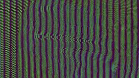 Psychedelische vibrierende Neonpartikel des einzigartigen Fehlers lizenzfreie abbildung