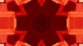 Psychedelische vormenachtergrond stock video