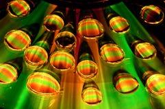 Psychedelische waterdrops Royalty-vrije Stock Foto